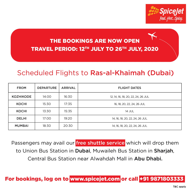 SpiceJet International Flights