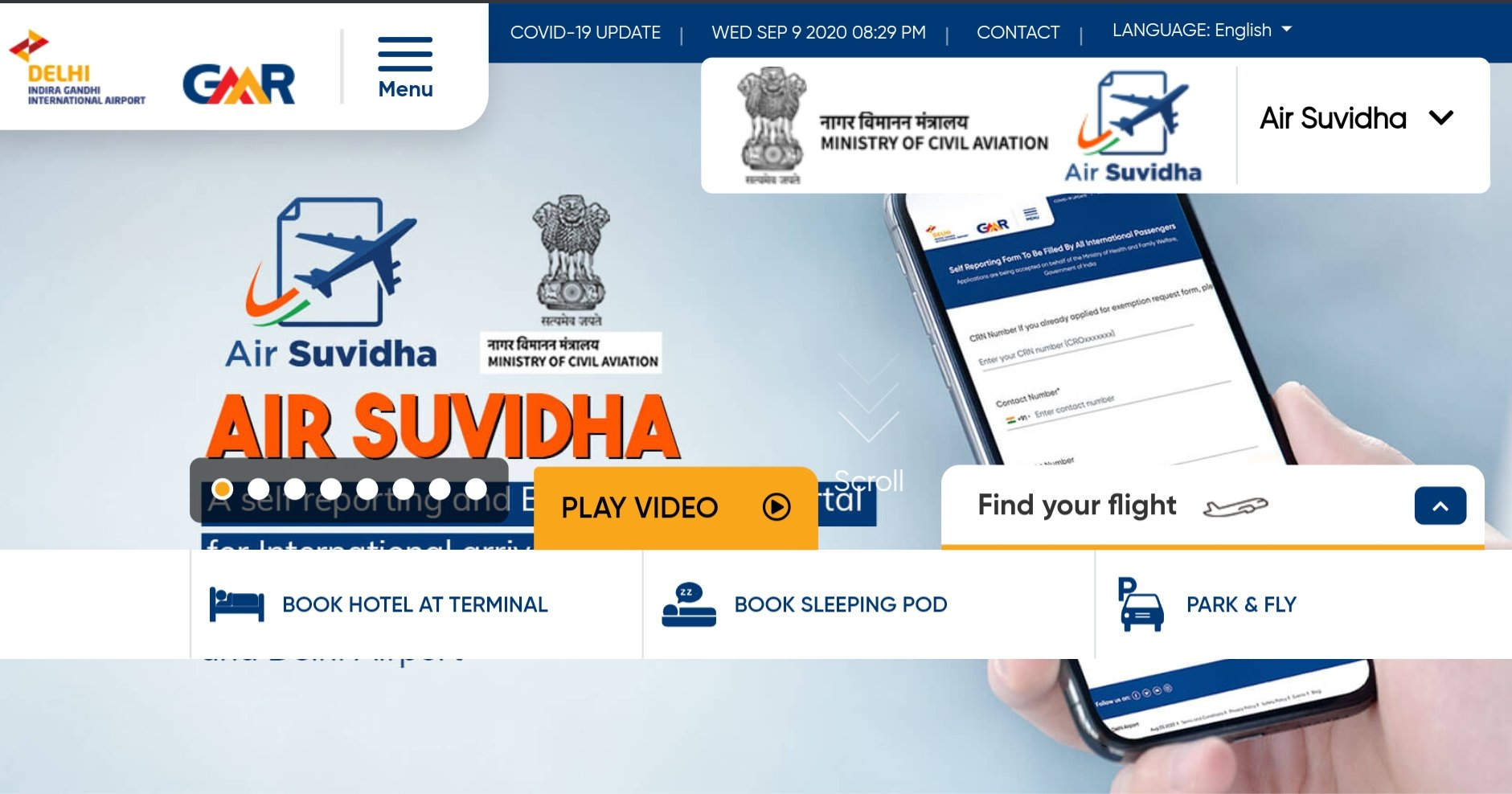 Air Suvidha Online aapproval